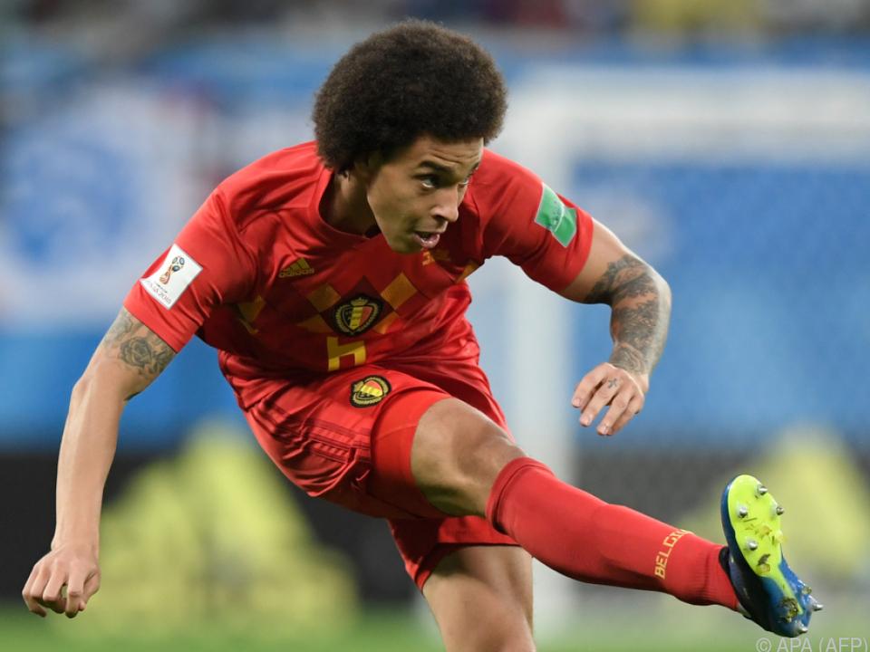 Borussia Dortmund verpflichtet Belgier Axel Witsel