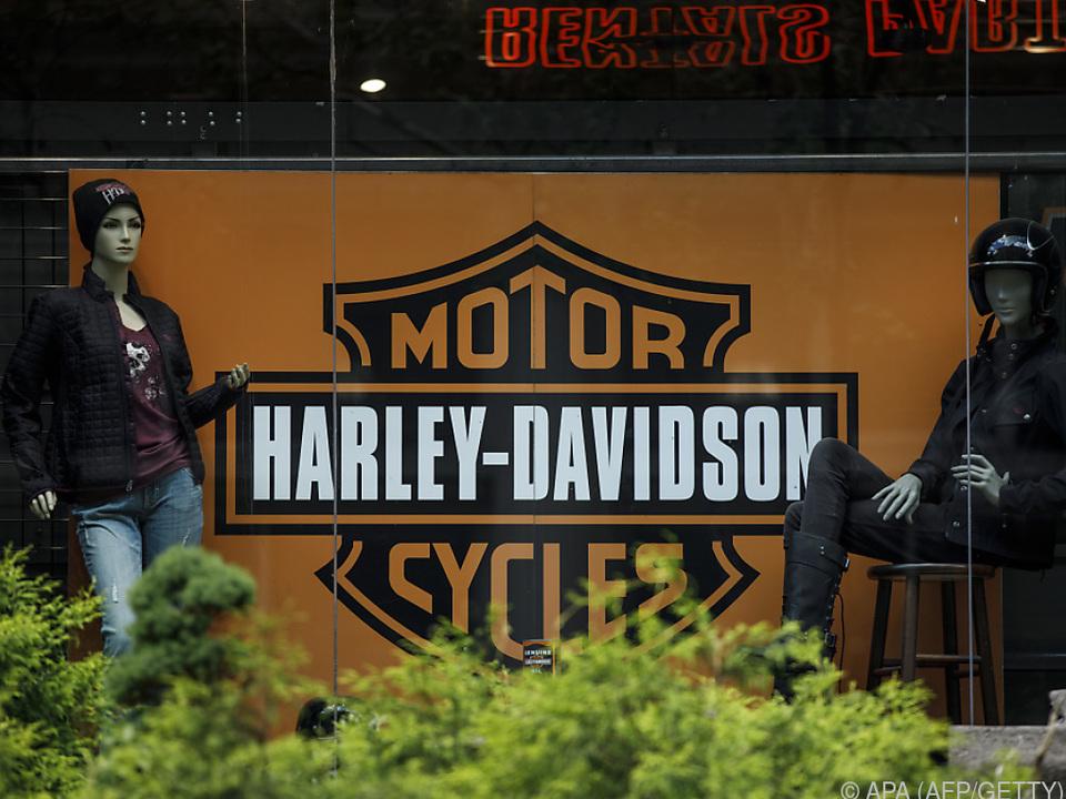 Boykottpläne amerikanischer Harley-Besitzer nennt Trump \