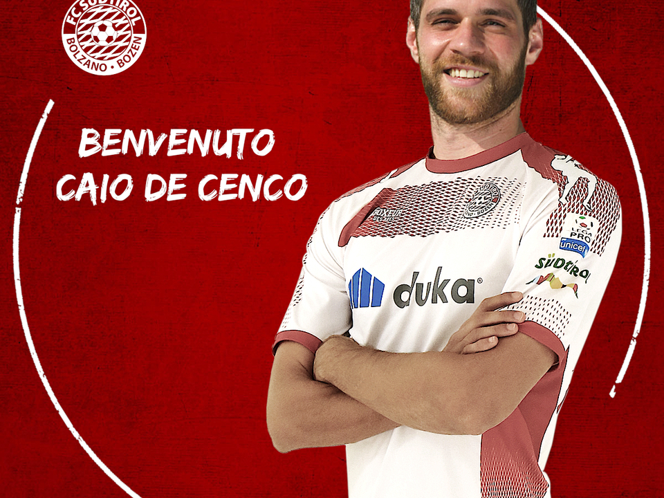 Caio De Cenco, Fußballclub Südtirol