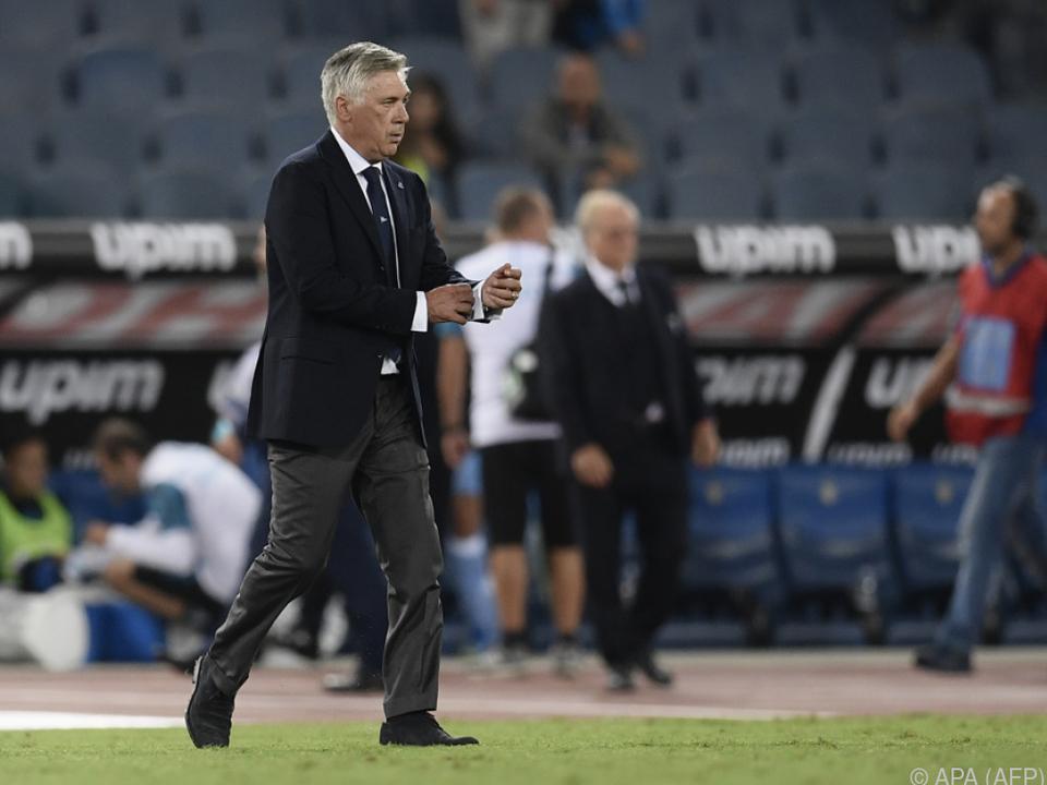 Carlo Ancelotti trifft auf seinen alten Verein