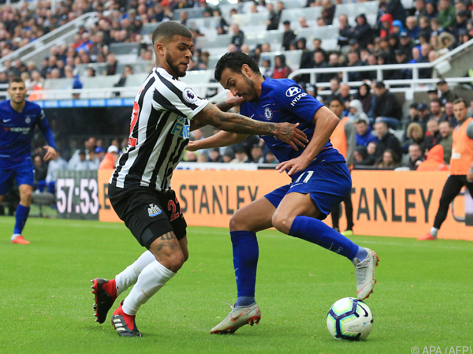 Chelsea machte in Newcastle drei Punkte