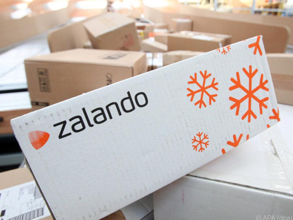 Das Geschäft mit Zalando wächst weiter