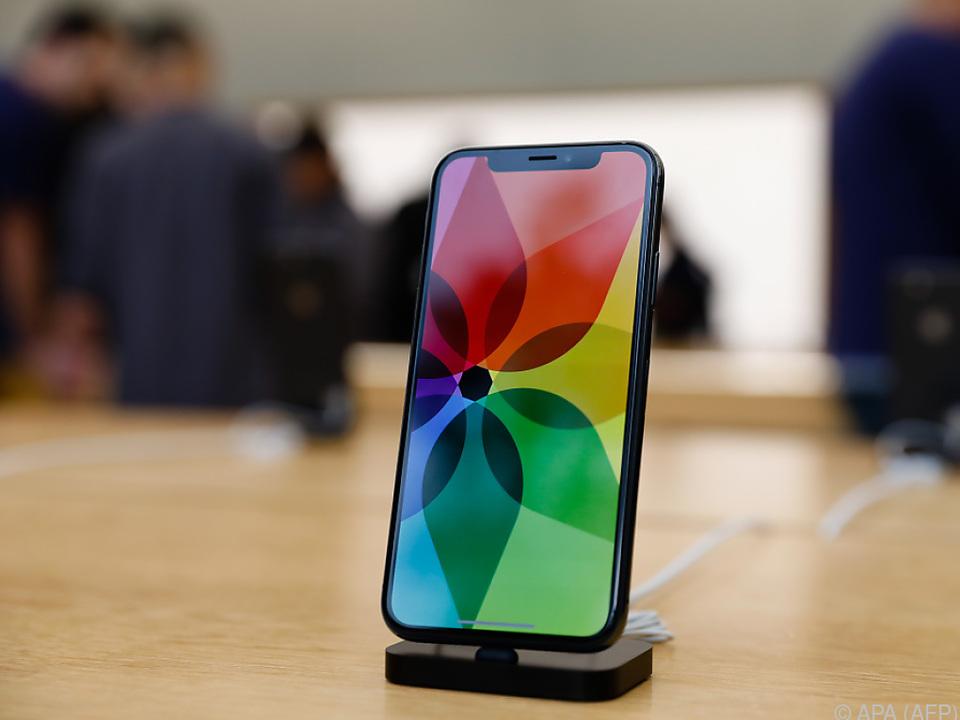 Das iPhone X kommt bei den Kunden gut an