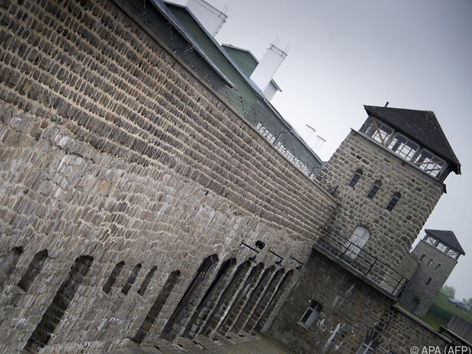 Das KZ mussten die Gefangenen selbst errichten