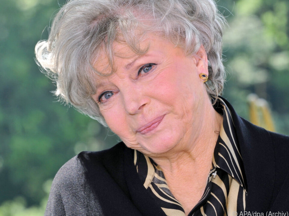 Das Lachen hat Schauspielerin Grit Boettcher nicht verlernt