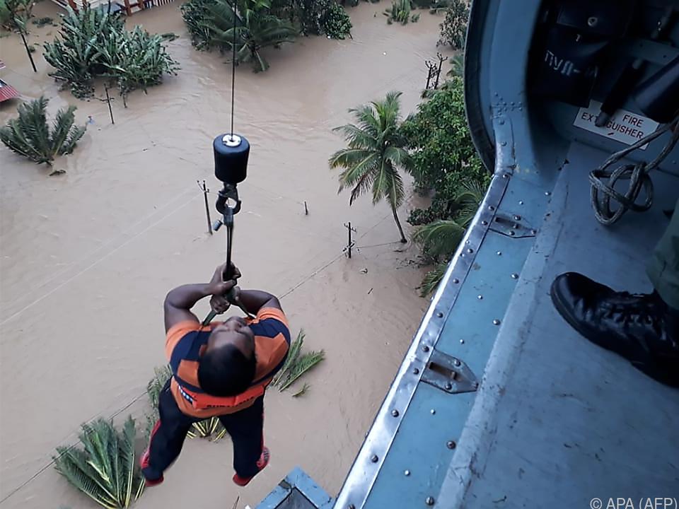 Das verheerende Hochwasser forderte bereits hunderte Tote