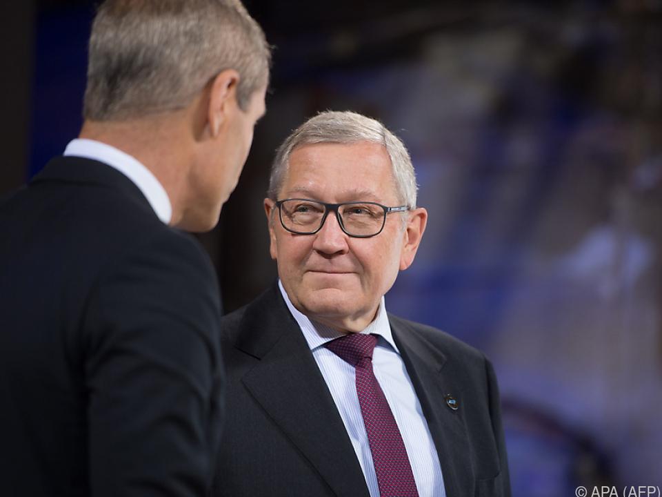 Der Chef des Euro-Rettungsfonds ESM, Klaus Regling