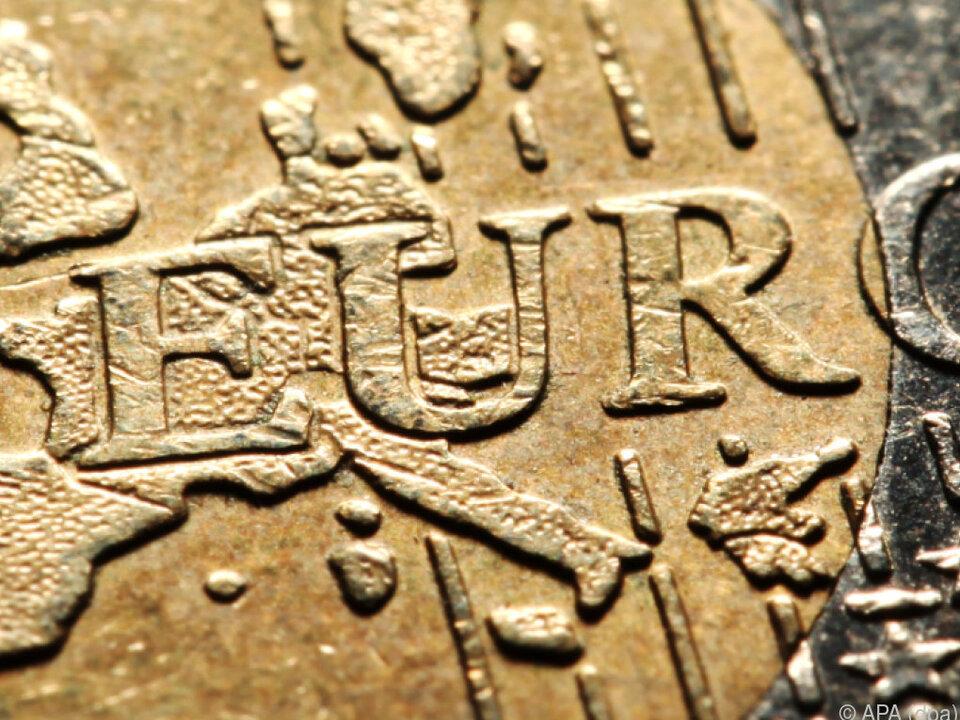 Der Euro fiel am Mittwochnachmittag auf 1,1301 US-Dollar