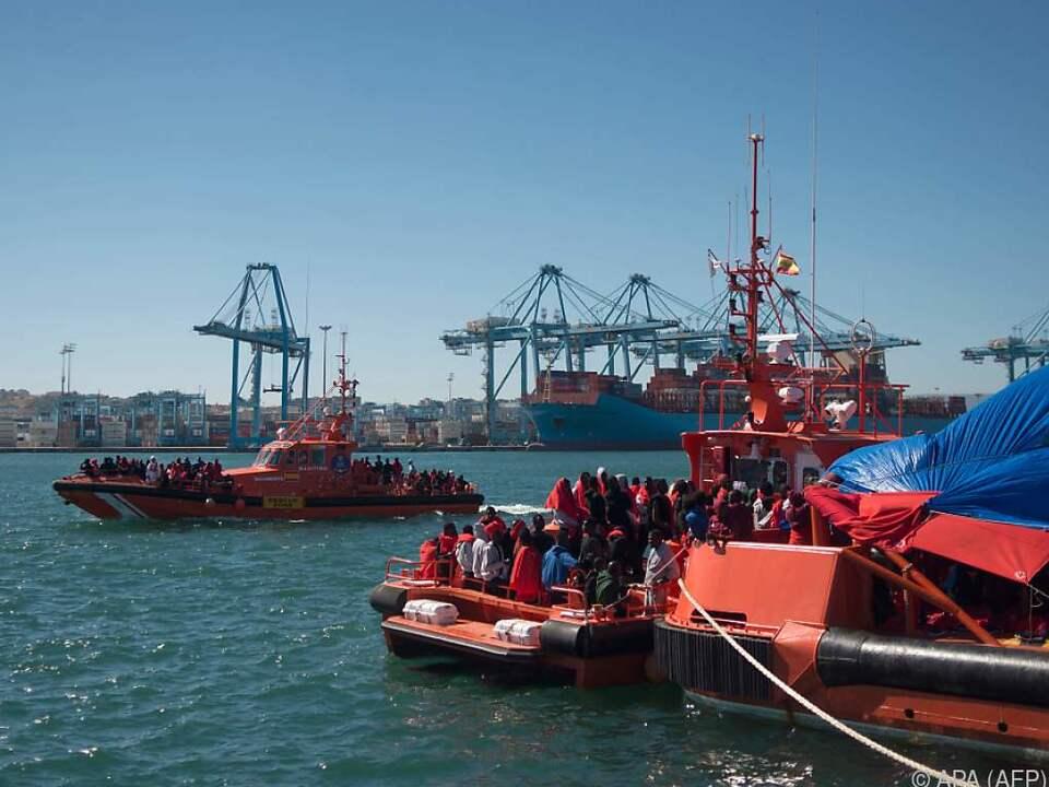 Der Hafen von Algeciras ist das Ziel