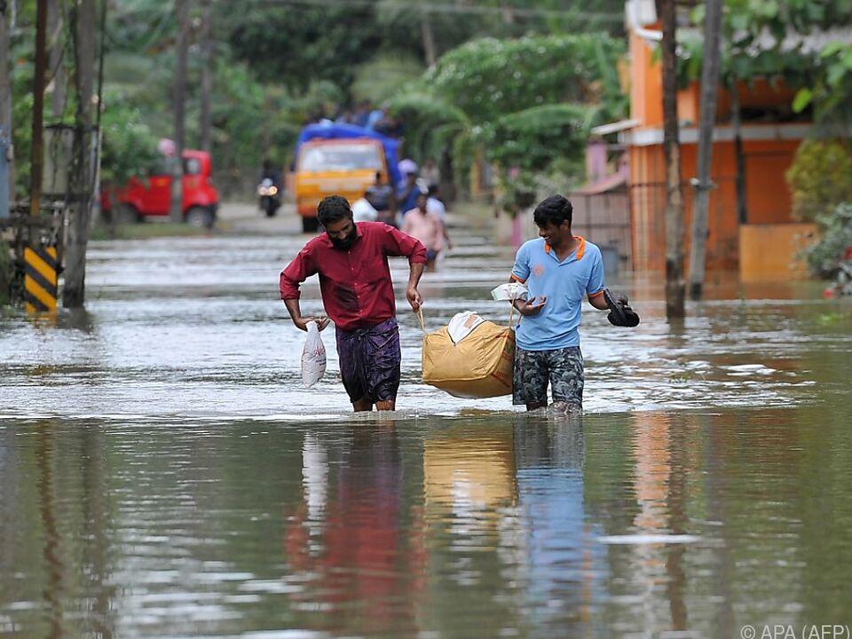 Der Monsun forderte bereits zahlreiche Menschenleben