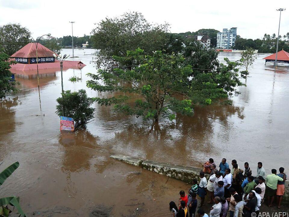 Der Monsun wütet heuer besonders schlimm in Indien