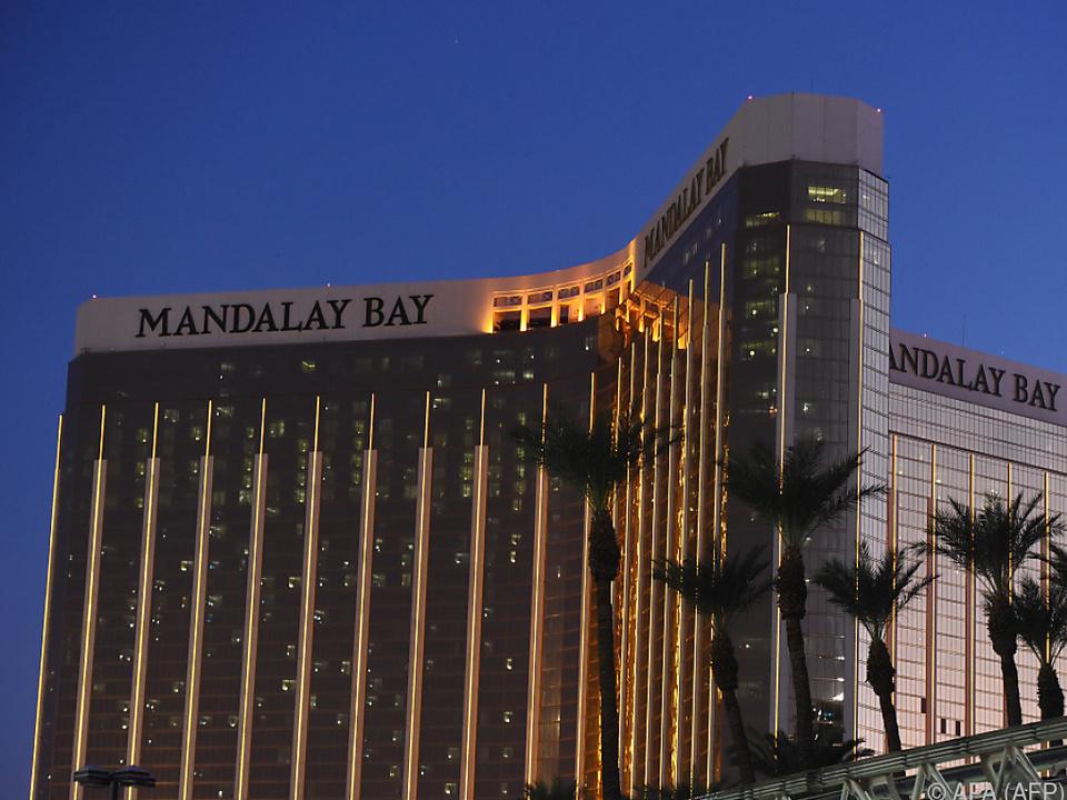 Der Schütze schoss aus einem Fenster dieses Hotels