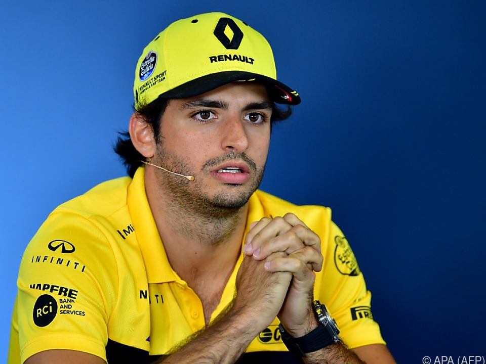 Der Spanier Sainz soll den Spanier Alonso ersetzen