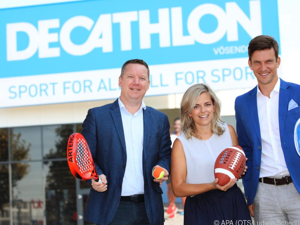 Der Sporthändler will Österreich in kleinen Schritten betreten