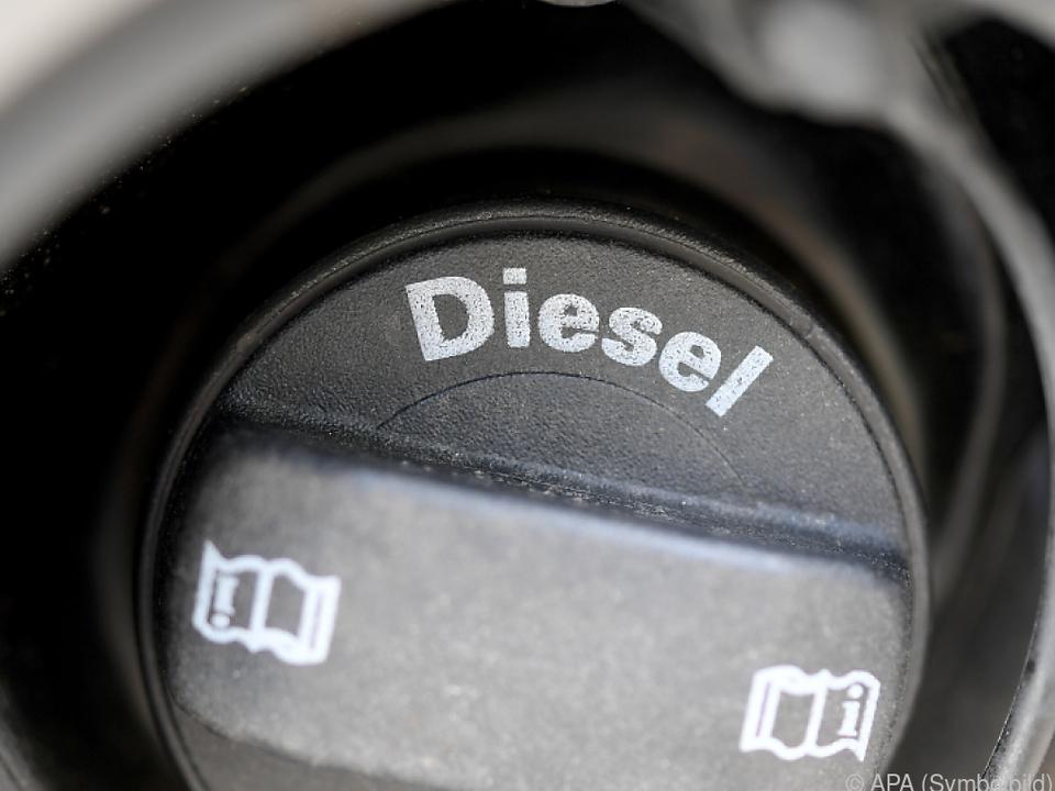 Der Verdächtige verkaufte den Diesel in Ungarn weiter