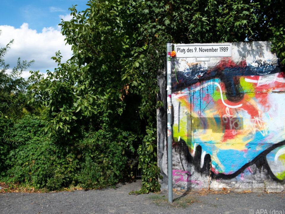Die Berliner Mauer war einst rund 155 Kilometer lang