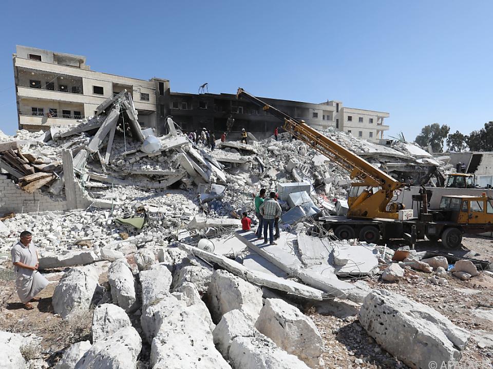 Die Explosion ereignete sich in einem Wohngebiet