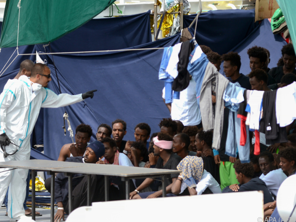 Die Flüchtlinge wurden misshandelt und gefoltert