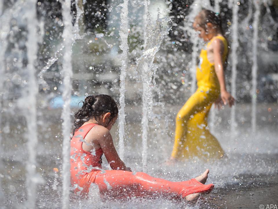 Die Hitze der Stadt ist im Sommer brutal!