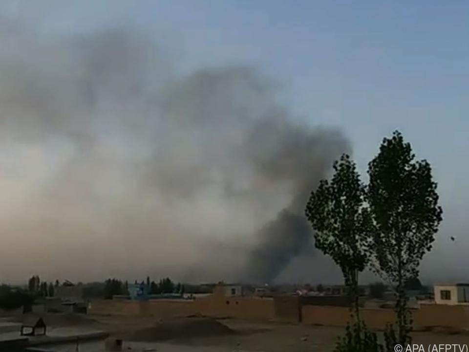 Die Kämpfe um Ghazni dauern an