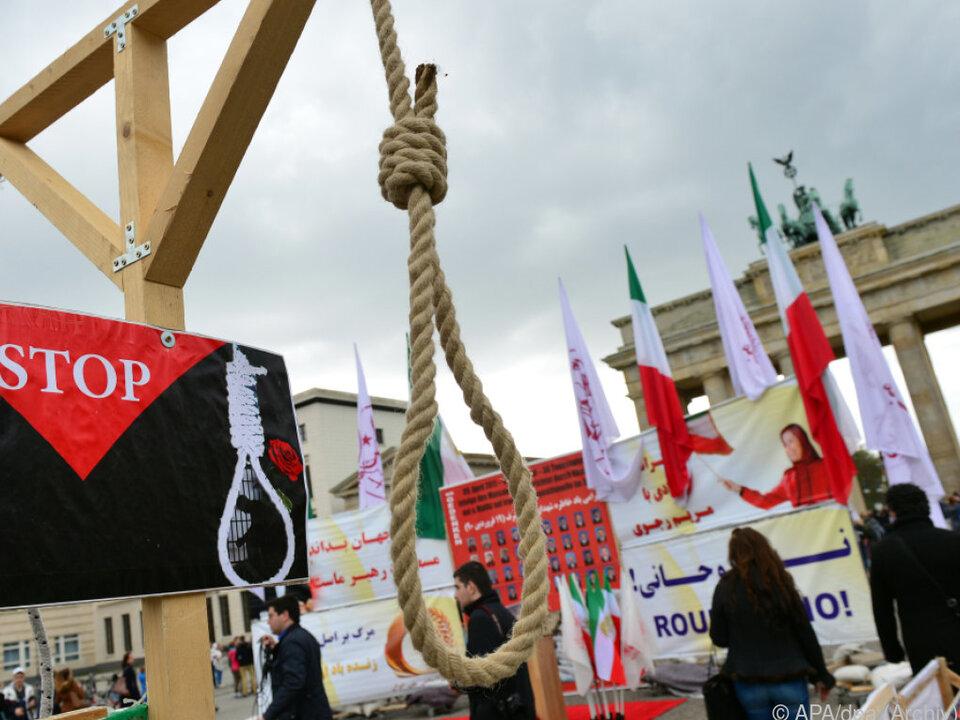 Die Kirche tritt für die weltweite Abschaffung der Todesstrafe ein