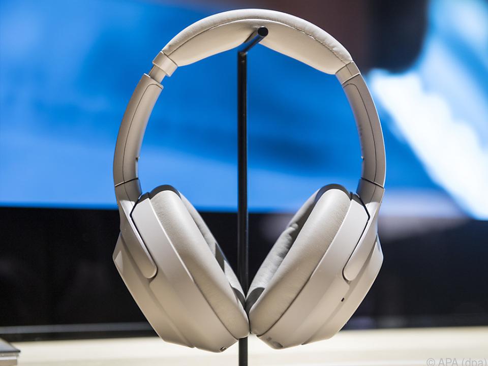 Sonys WH-1000XM3 kann verschiedene Geräuschquellen unterscheiden