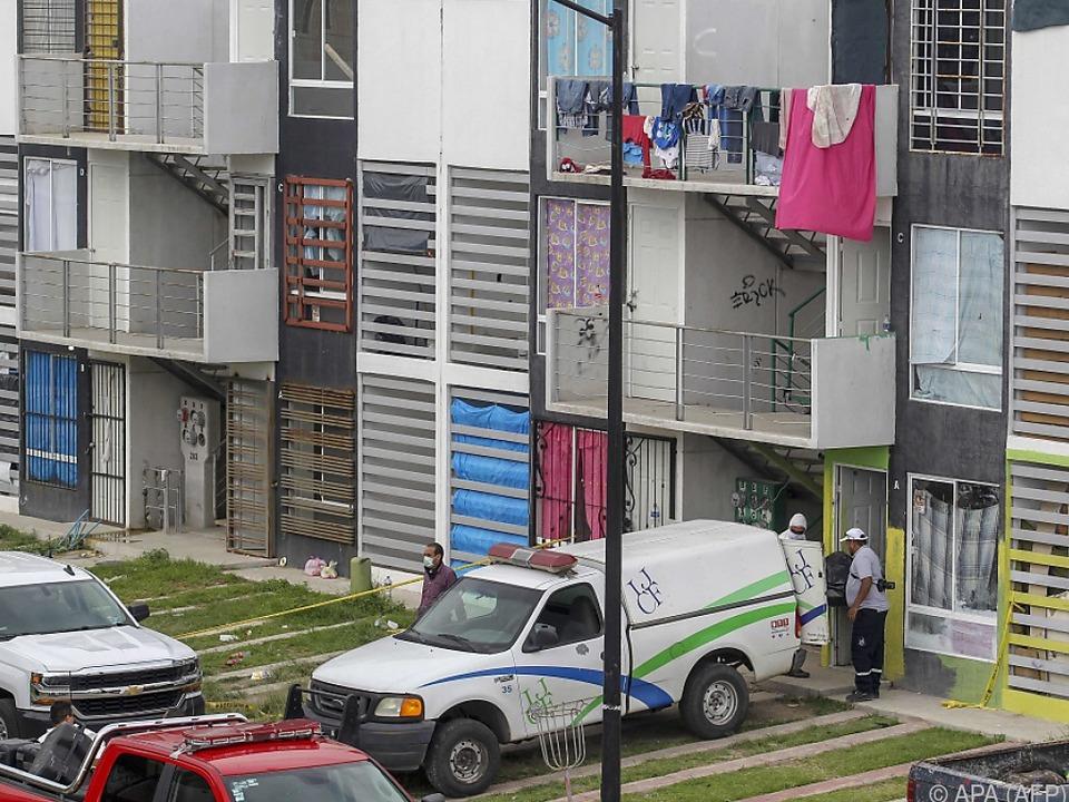 Die Leichen wurden in der Stadt Tlajomulco gefunden