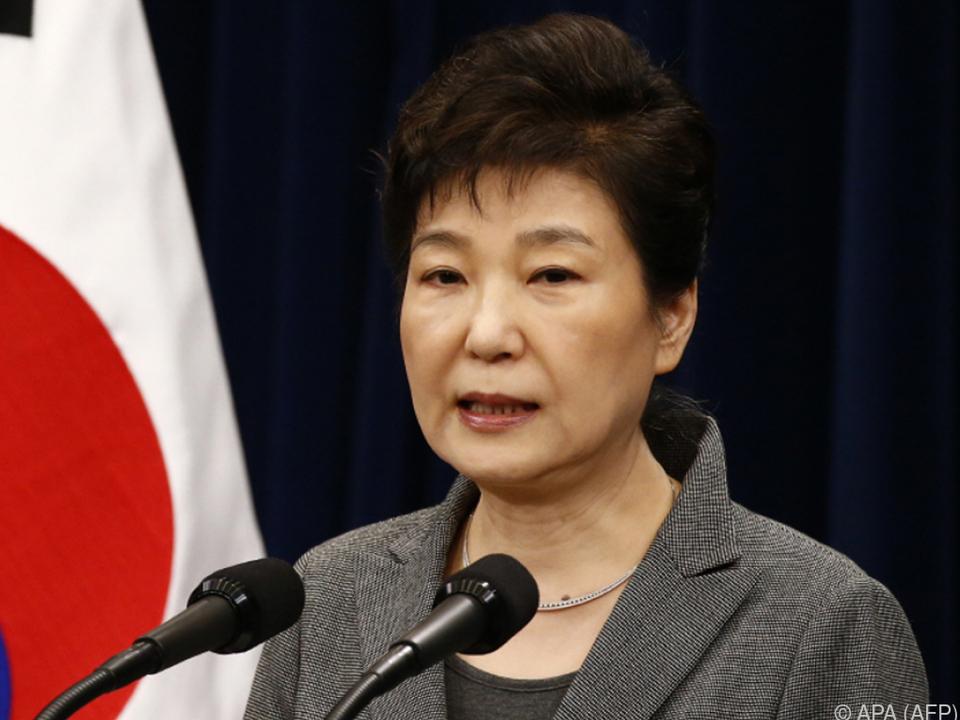Die Strafe für Park Geun-hye wurde erhöht