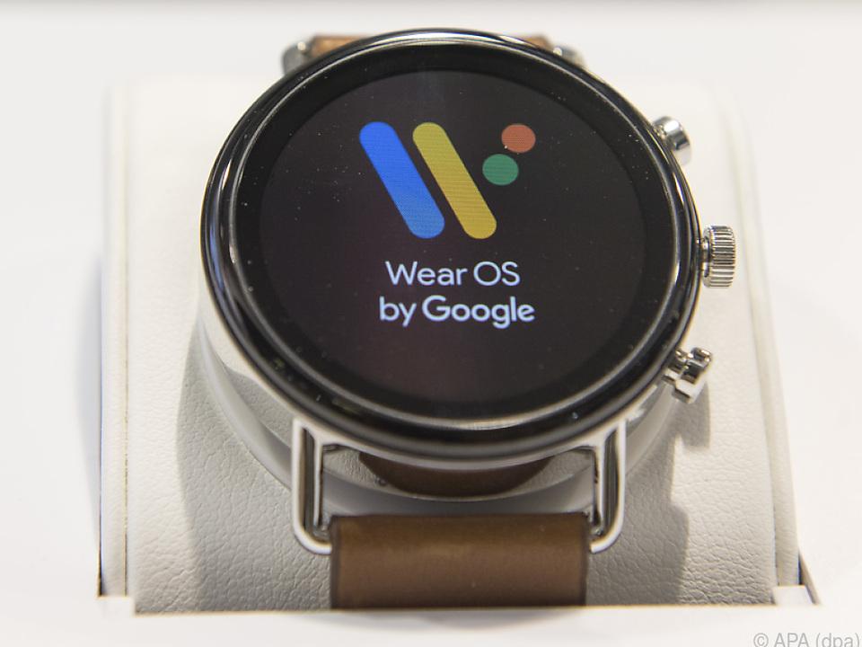 Auf der Smartwatch Skagen Falster 2 läuft Googles Wear OS