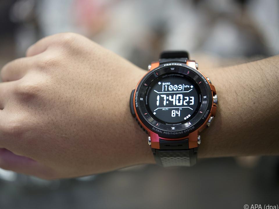 Die Smartwatch von Casio ist für Outdoor-Enthusiasten gedacht