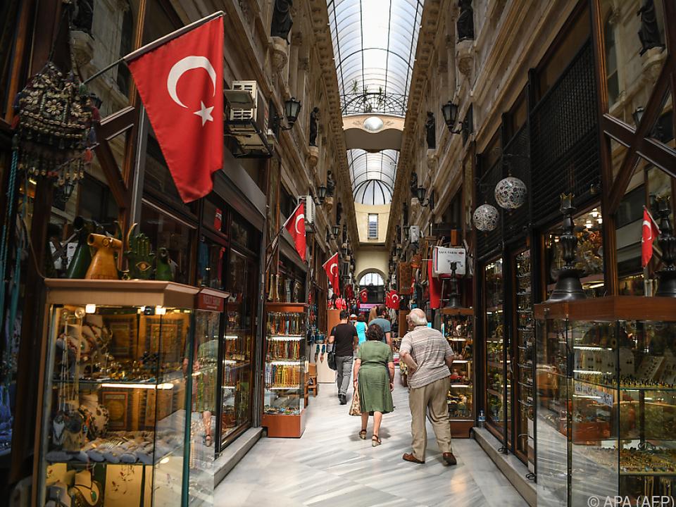 Die türkische Lira ist schwer unter Druck