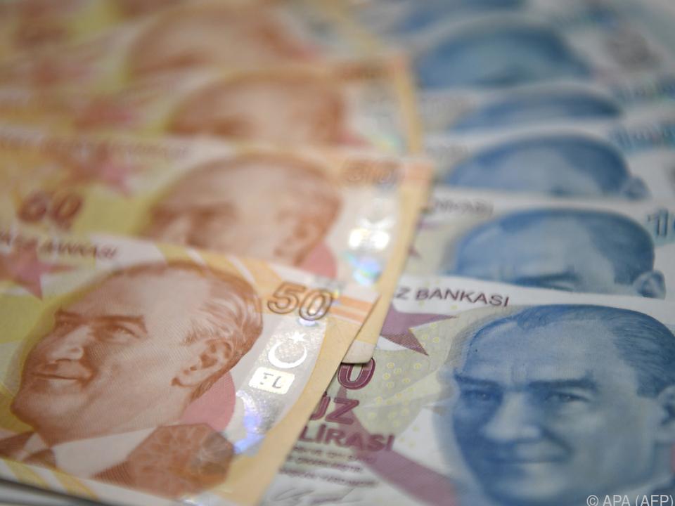 Die türkische Währung war zuletzt sehr unter Druck geraten