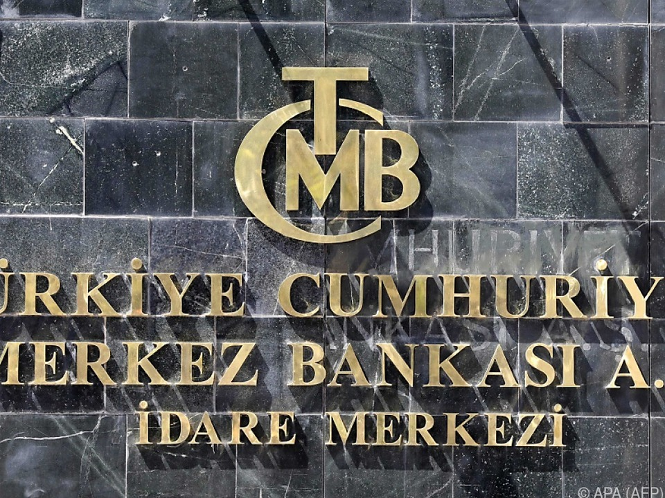 Die türkische Zentralbank in Ankara