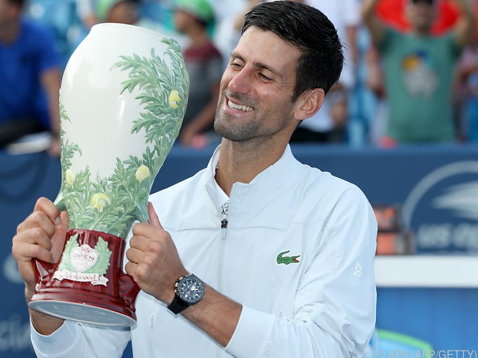 Djokovic gelang das \