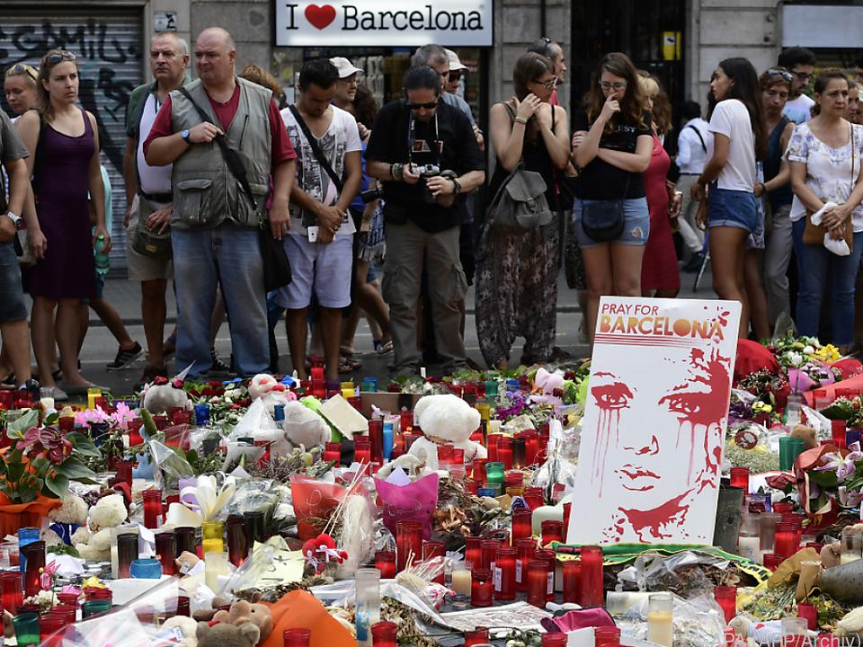 Ein Marokkaner war in eine Menschenmenge in Barcelona gerast