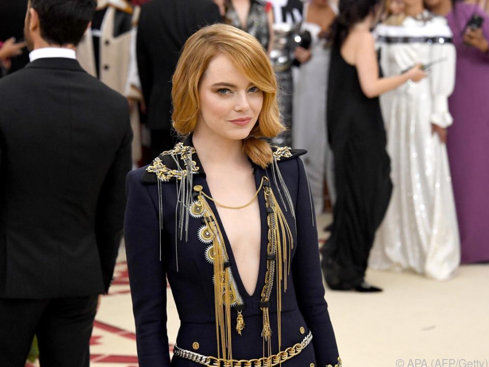 Emma Stone grübelt gerne nach