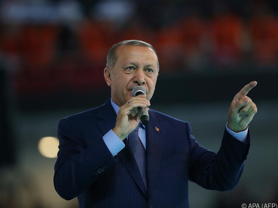 Erdogan versucht Panik zu verhindern