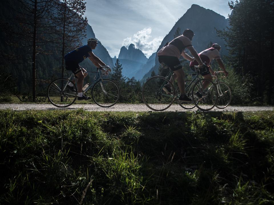 Eroica Dolomiti 2017, historischer Radsport