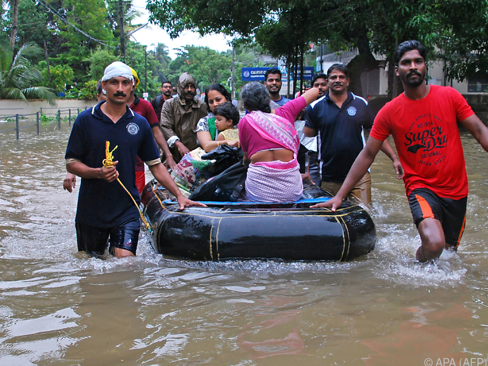 Es herrscht Chaos in Kerala