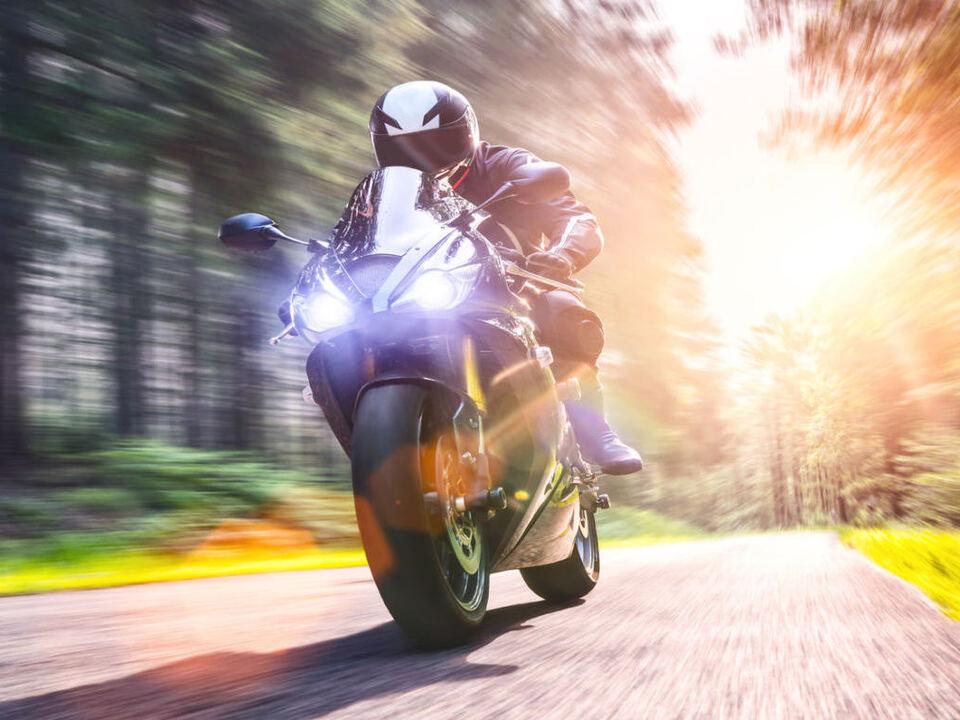 Motorrad sym geschwindigkeit