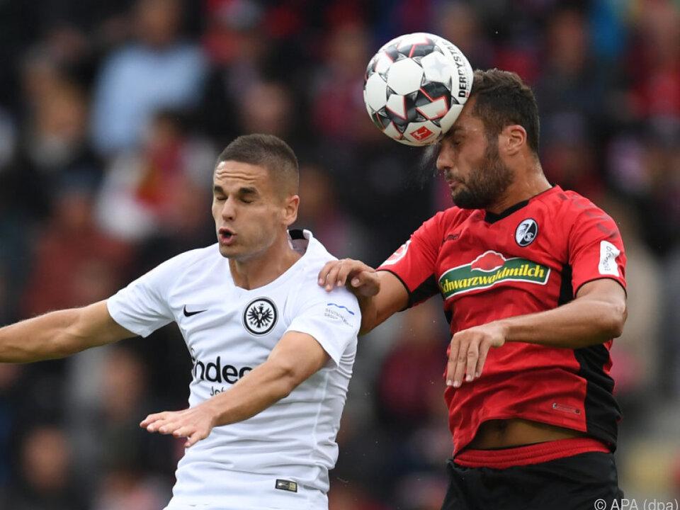 Frankfurt holte in Freiburg drei Punkte