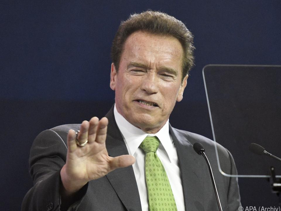 Für Arnie wurde ein Kindheitstraum wahr