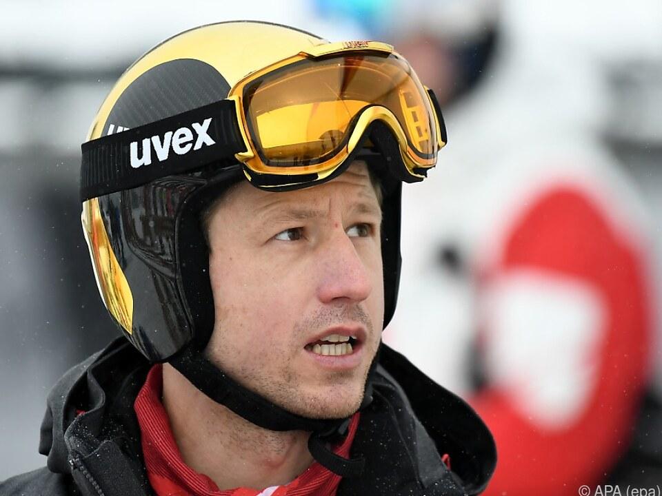 Für Reichelt sind die Schmerzen im Skischuh noch zu stark