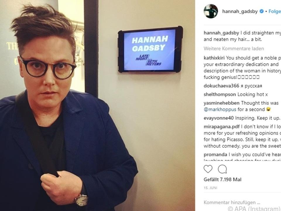 Gadsby widmet sich in Comedy-Programm ihrer Homosexualität