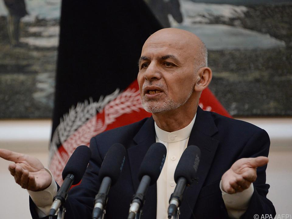 Ghani hofft, dass Taliban Waffenruhe respektieren