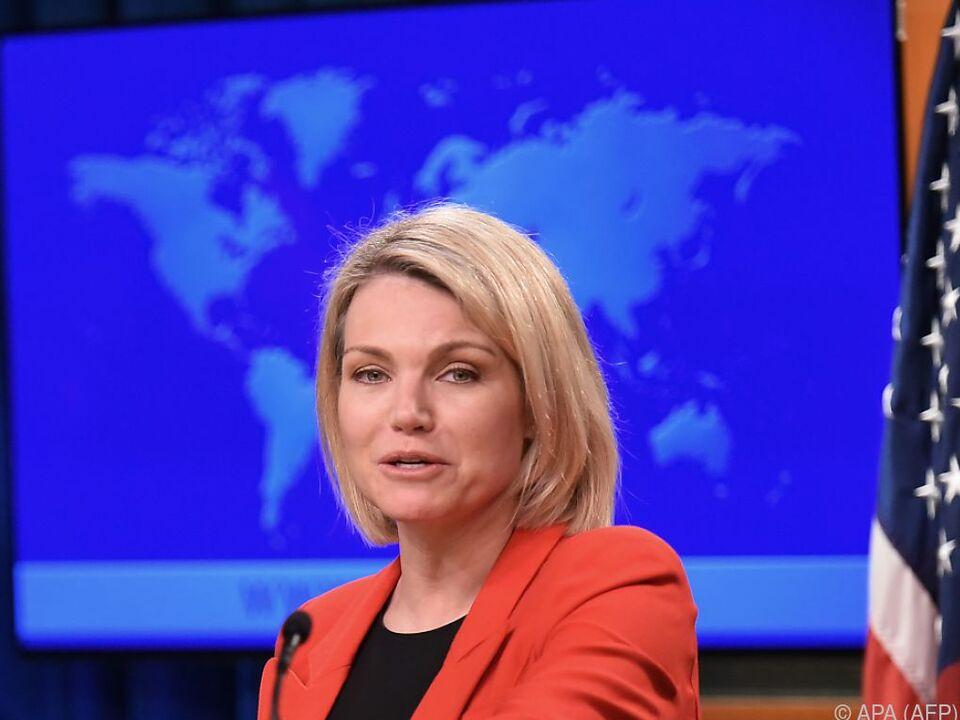 Heather Nauert ist über die Vorwürfe der Türkei verwundert