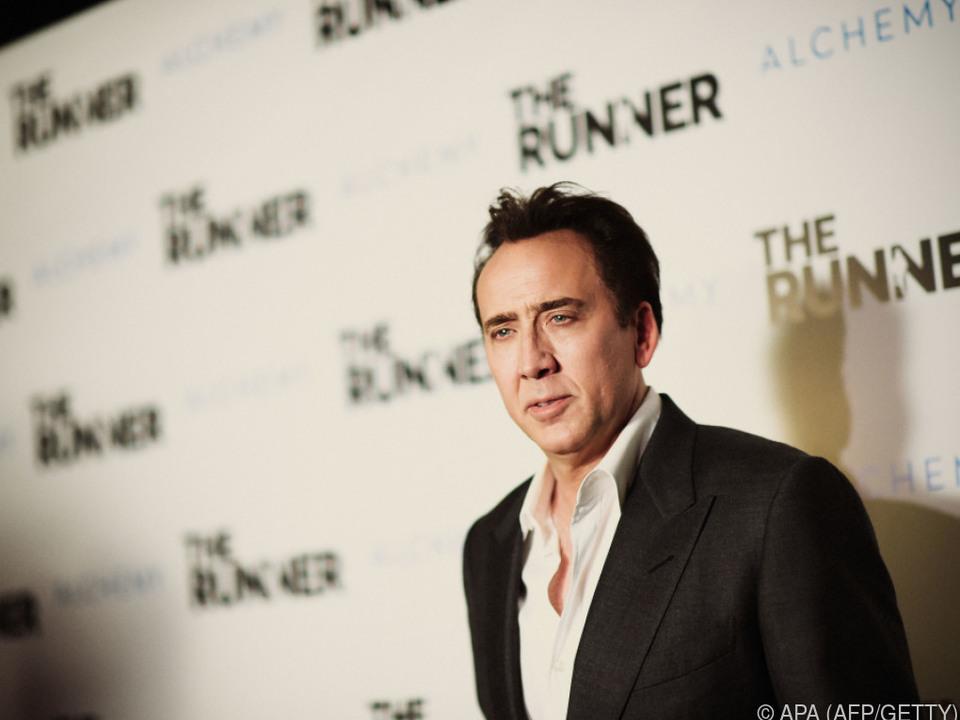 Hollywoodstar Nicolas Cage beehrt die Bundeshauptstadt