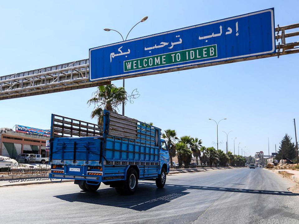 Idlib ist das letzte große von Rebellen kontrollierte Gebiet