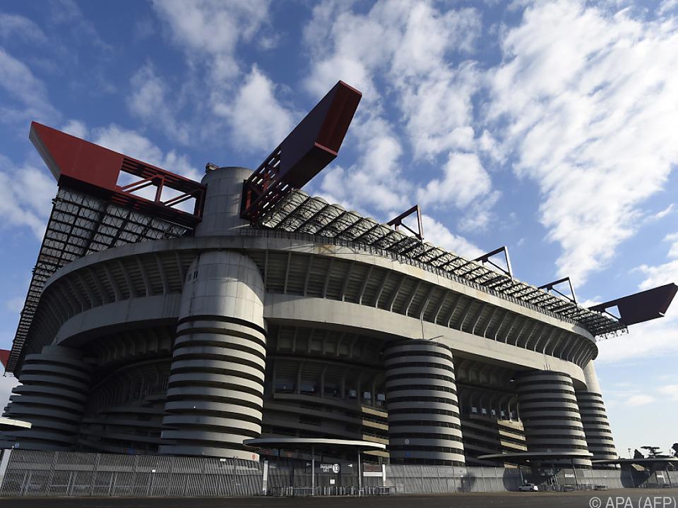 Im Mailänder San-Siro-Stadion soll die Eröffnungsfeier stattfinden