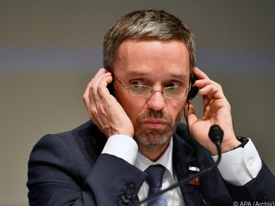 Innenminister Kickl (FPÖ) habe die höchsten Reisekosten gehabt